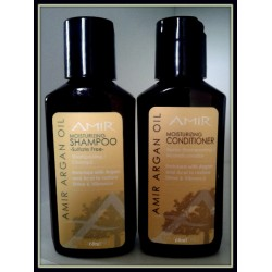 AMIR Argan Oil Moisturising Shampoo Or Conditioner 60ml